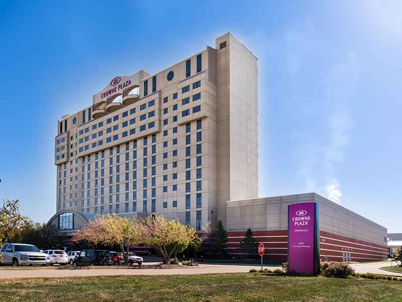 Crown Plaza Hotel, Springfield